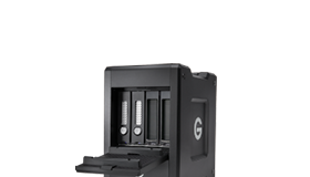 G-SPEED Shuttle Thunderbolt 3 with ev Series Bay